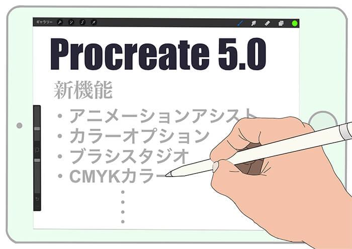 Procreteの最新版【Procreate 5】がついにリリース!! ブラシスタジオ・アニメーションアシスト・カラーオプションなど新機能が追加。
